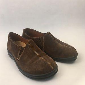 Footprints by Birkenstock's shoes brown suede 38